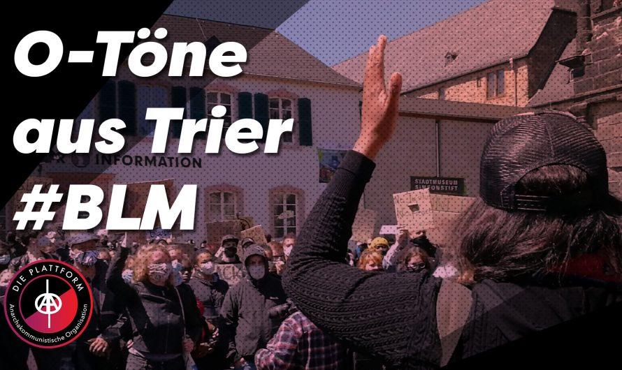 Silent Demo gegen Rassismus in Trier am 6.6. (Video)
