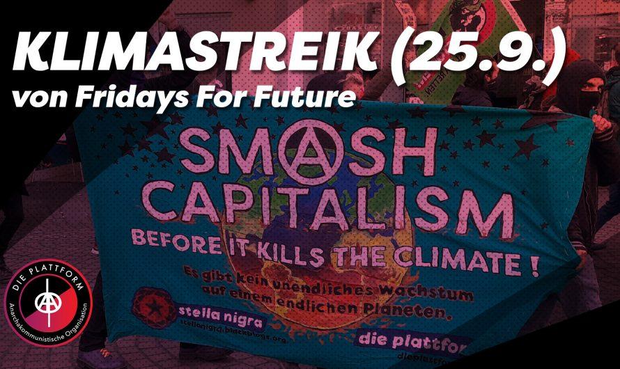 Rede & Bericht vom Globalen Klimastreik am 25.9.20 von FFF